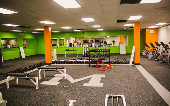 Gym Installation - Prairie Rubber Paving - Winnipeg, Manitoba